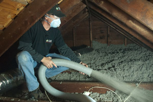 Cellulose Insulation Installation In Greater Baltimore